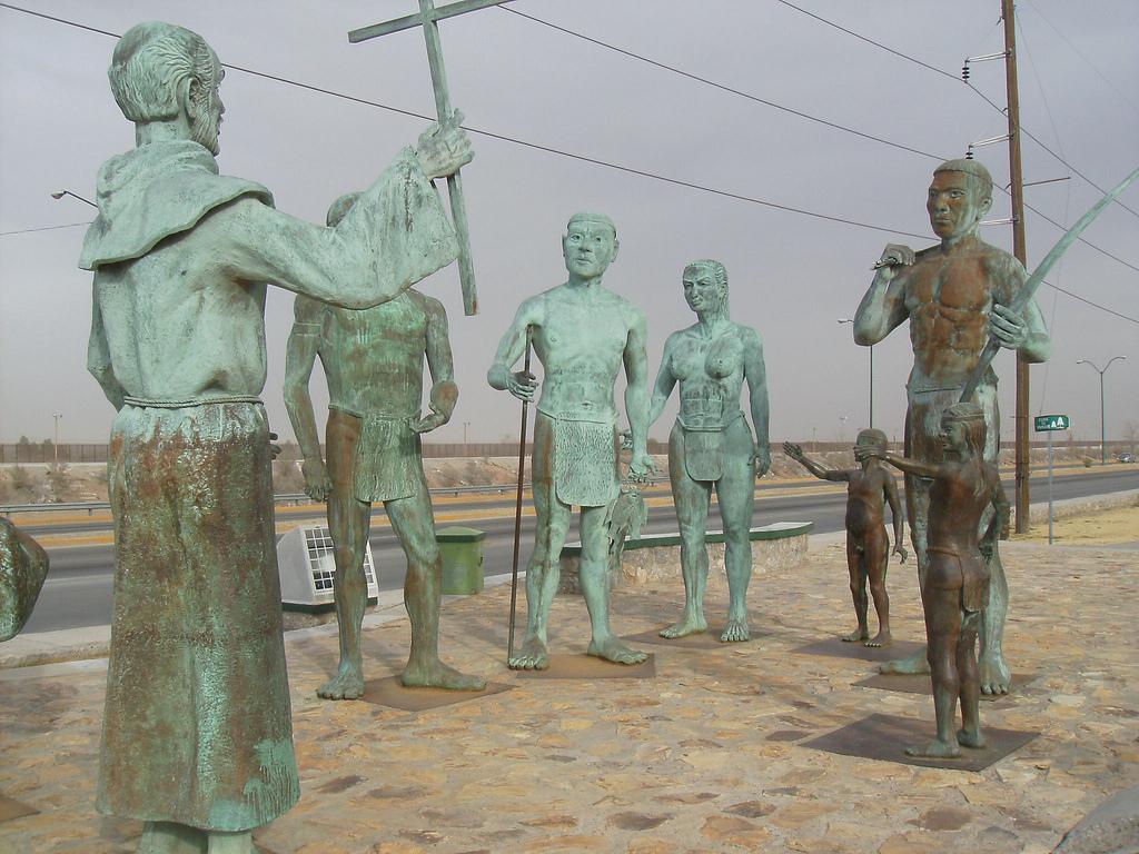 Ciudad Juárez La Conquista de los Indios Mansos