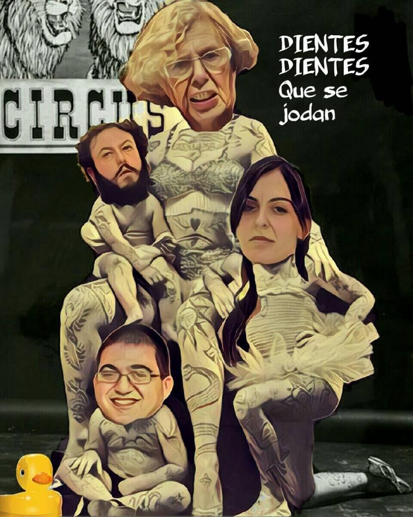 Crece la indignación por las últimas carmenadas en Madrid