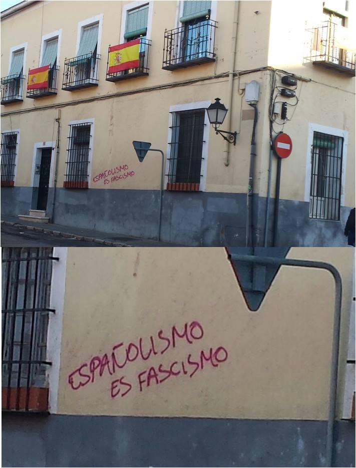 Españolismo es fascismo