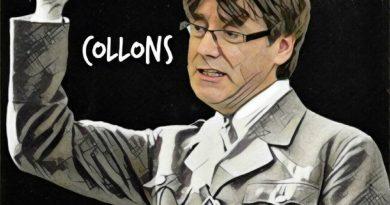 Junts Per Puchemón se está desinflando en las encuestas a favor de ERC. Ilustración de Linda Gakmor
