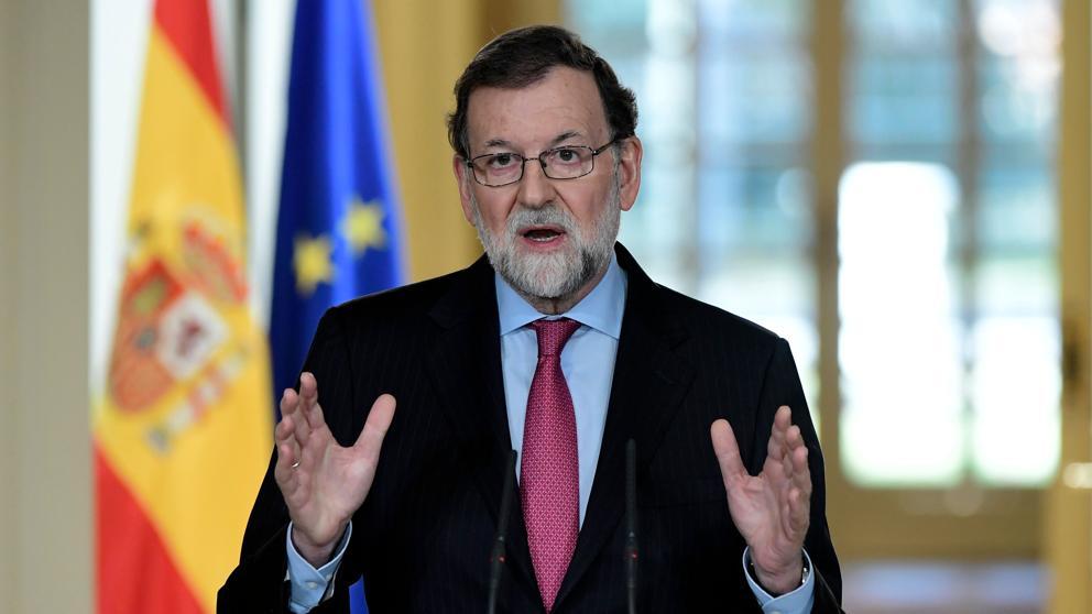 La comparecencia última de diciembre del presidente Rajoy
