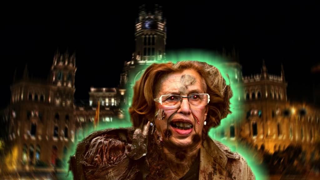 Madrid y Carmena que ha convertido a todos los vecinos en Ciuda-zombis en lugar de ciudadanos