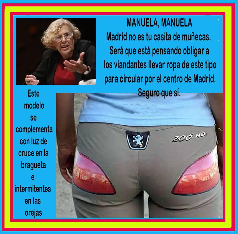 Manuela Carmena Madrid no es tu casa