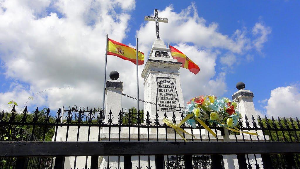 Puerto Rico no se independizaron de España, fuimos separados por la fuerza. Y en el caso de Puerto Rico, fue en contra de nuestra voluntad