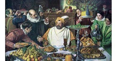 Sancho Panza, en la ínsula Barataria