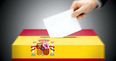 Urna abanderada española