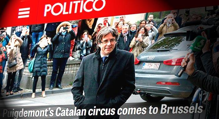 escapada de Carles Puigdemont