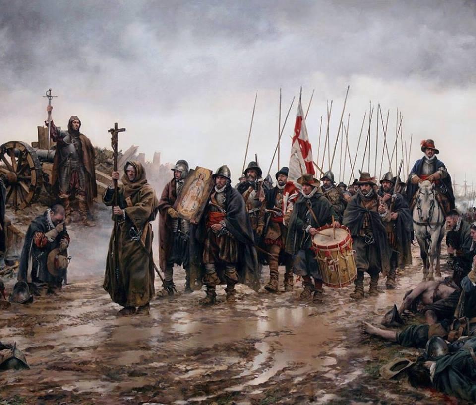 los días 7 y 8 de diciembre en Holanda se produce el Milagro de Empel.