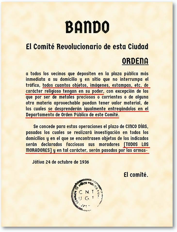 Bando republicano 1936