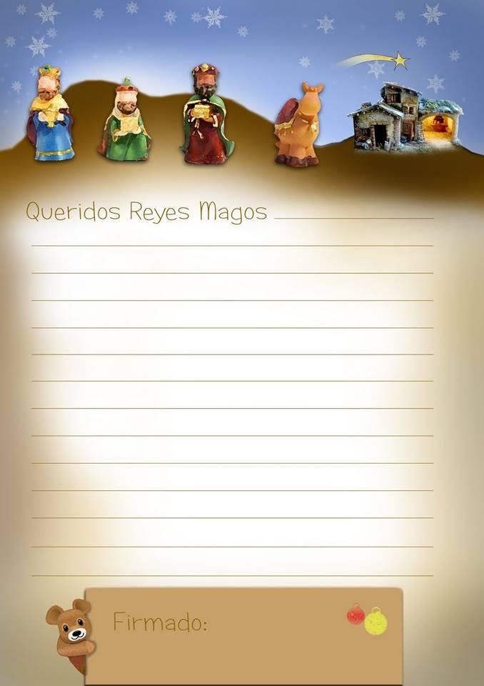 CARTA A LOS REYES...MAGOS.