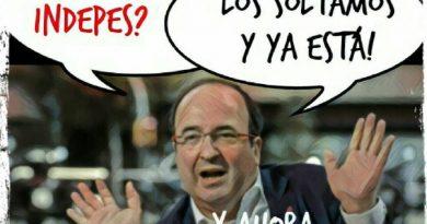 Jopé con el PSC, ¿O es el PSOE? Ilustración de Linda Galmor