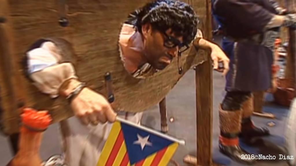 La chirigota de Cadiz y Puigdemont