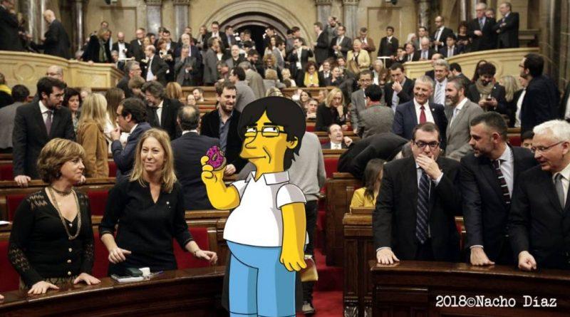 PuigDeHomer en el Parlament