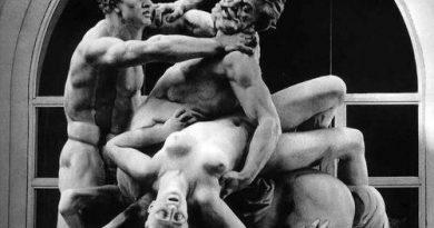 Robert Doisneau - Le Combat du Centaur, 1971,detalle