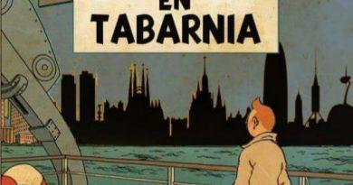 'Tintin en Tabarnia'... ¿Por qué no? @GuajeSalvajeTWITTER
