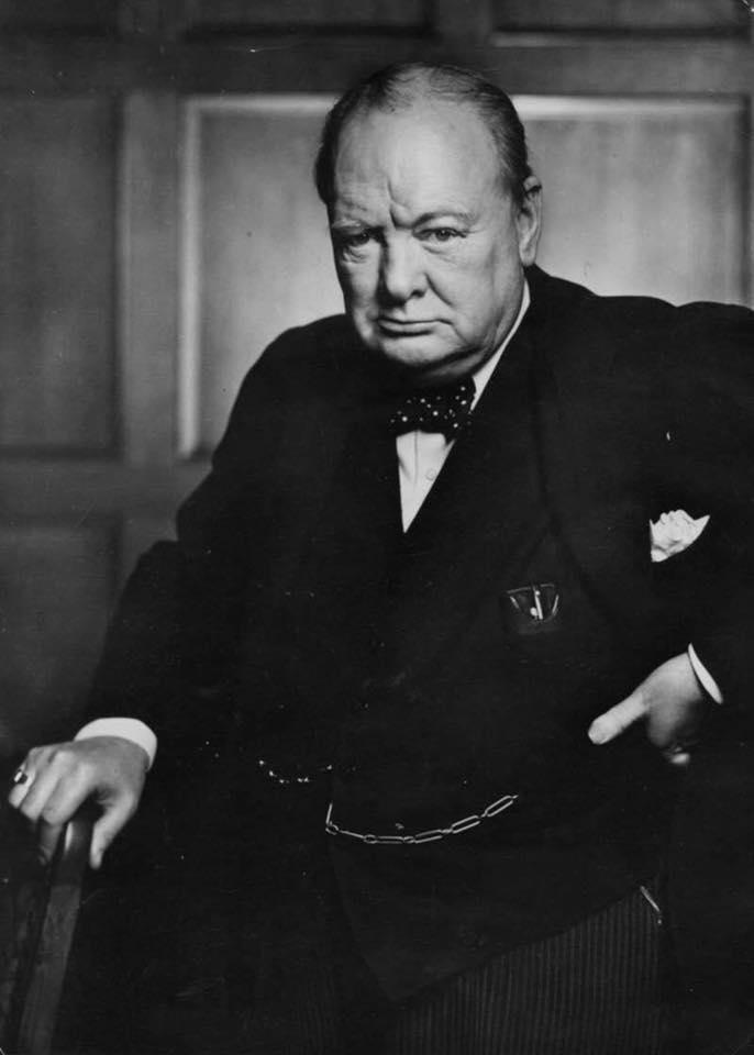 Cinco pensamientos que he hecho míos, con el permiso de Sir Winston Churchill