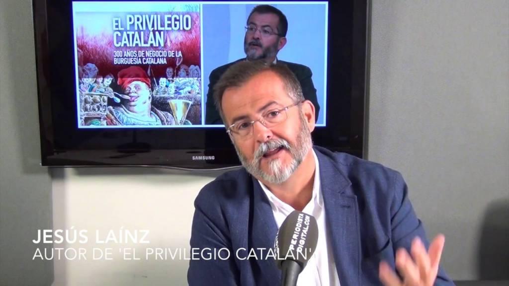 Jesús Laínz, autor de 'El privilegio catalán'