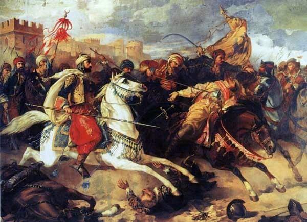 La batalla de Varna En 1444 en el este de Bulgaria, el ejército otomano bajo el sultán Murad II derrotó a los ejércitos polacos-húngaros