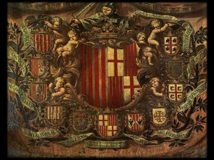 Por el Tratado de Corbeil quedaron delimitadas las fronteras entre los reyes de Aragón y los de Francia