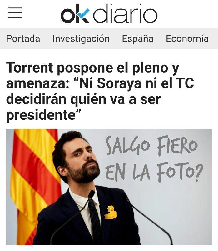 Rogelio Torrente se acojona (ahora vive nivel Presidente) y suspende el pleno. Ilustración de Linda Galmor