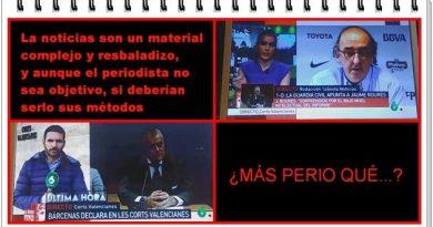 Roures, Bárcenas, la delincuencia organizada y García Ferreras