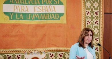 Susana Díaz en el día de andalucía
