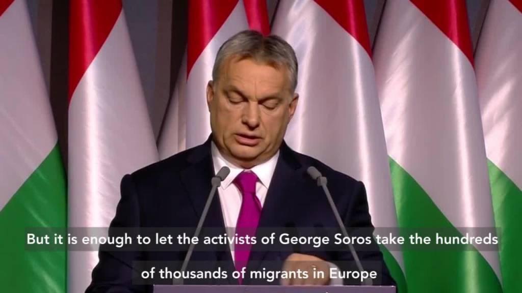 Viktor Orban y Geoarge Soros