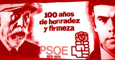 100 años de honradez. Compañeros, el PSOE ha vuelto