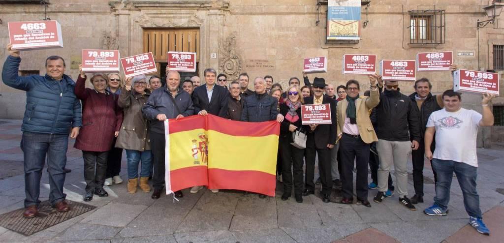 80.000 firmas conseguidas para que devuelvan lo robado del Archivo de Salamanca