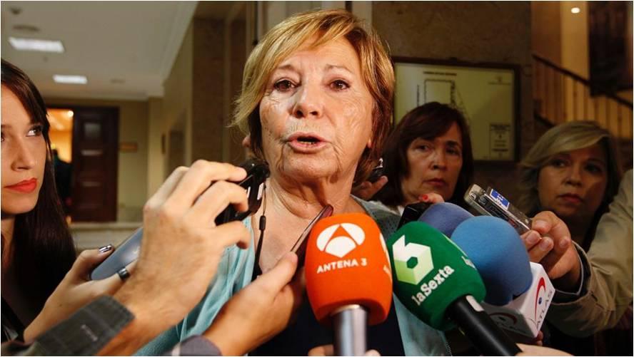 """Celia Villalobos: """"Hay muchos pensionistas que llevan más cobrando la pensión que trabajando"""" El PP responde a los pensionistas: """"Otros sectores han sufrido de forma más intensa la crisis"""""""