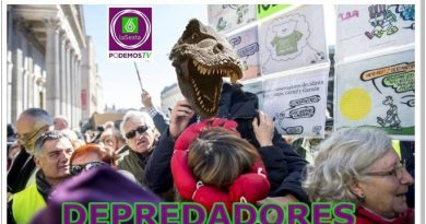 Dos miembros de las Mareas y otro de Podemos son los jefes de la Coordinadora en Defensa de las Pensiones