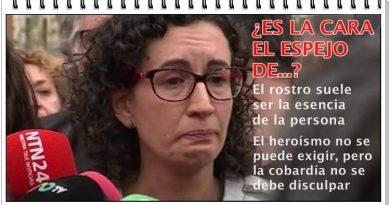 Los pucheritos de la fugada Marta Rovira para la historia de la infamia. Por Rafael Gómez de Marcos