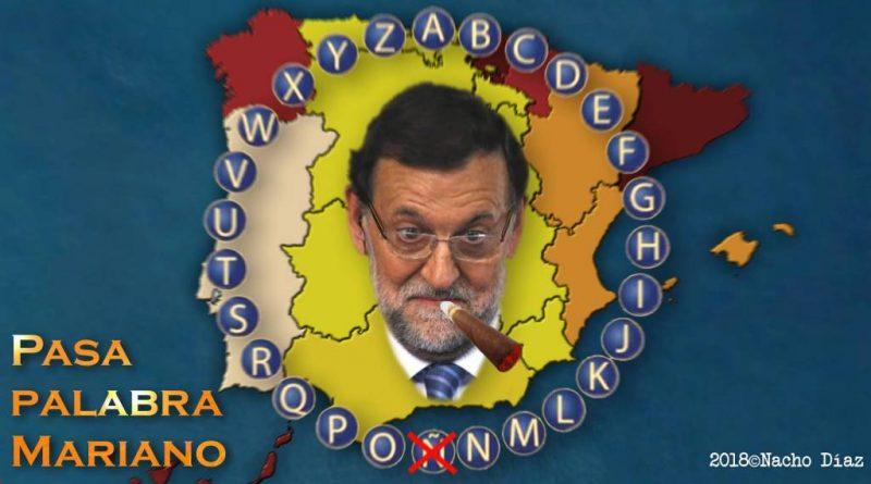 España, Rajoy, el puro y Pasa Palabra