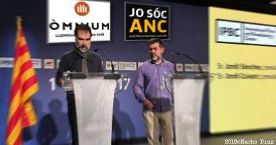 Jordi Sánchez y Jordi Cuixart, presidentes de la ANC y Òmnium Cultural