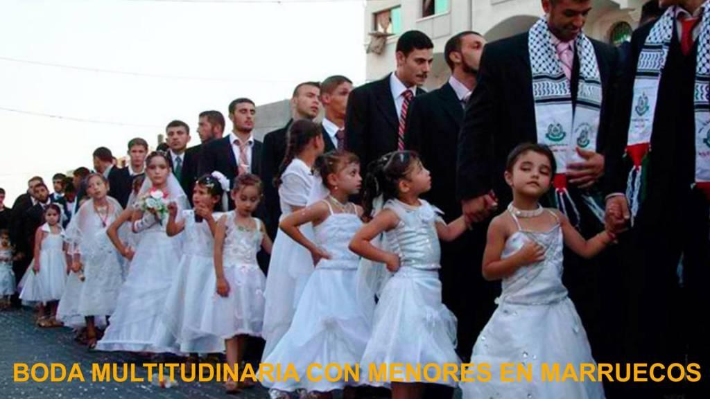Matrimonios con niñas en Marruecos
