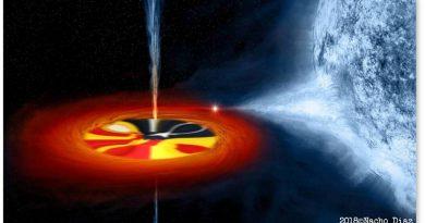 Nuevo agujero negro descubierto