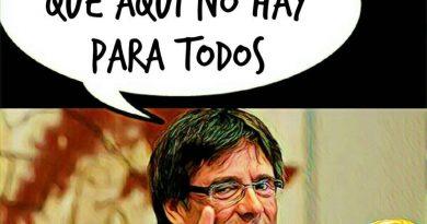 Puchemón pide a los tractorianos que sean fuertes y resistan ante el ataque de la dictadura de los presos políticos. Ilustración de Linda Galmor