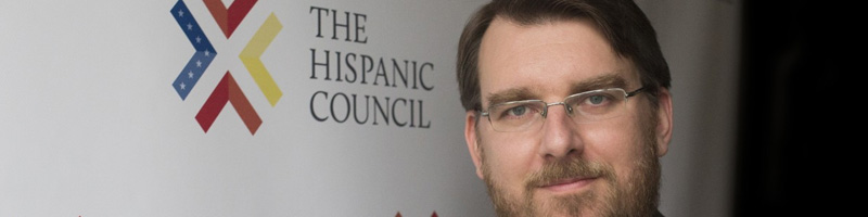 Daniel Ureña, Presidente de The Hispanic Council, ponente en los desayunos-coloquio de la Fundación Euroamérica