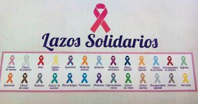 Lazos solidarios de colores