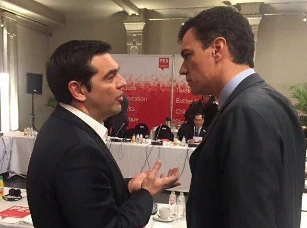 Sánchez, Tsipras y la vergüenza ajena