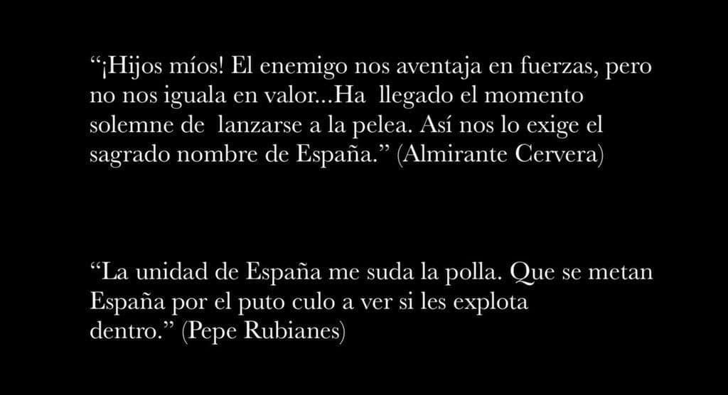 """La calle dedicada al almirante Pascual Cervera y Topete, héroe de la guerra de Cuba, se llama Pepe Rubianes, en honor al fallecido """"humorista catalán"""""""