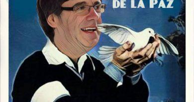 Llorando, pagando, dando por saco, aunando antisistemas, promoviendo el odio a España, mintiendo,... Ilustración de Linda Galmor