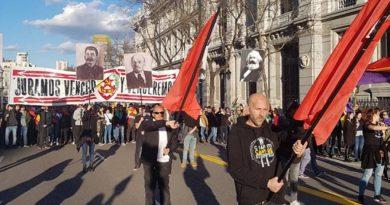 Paseando genocidas por Madrid