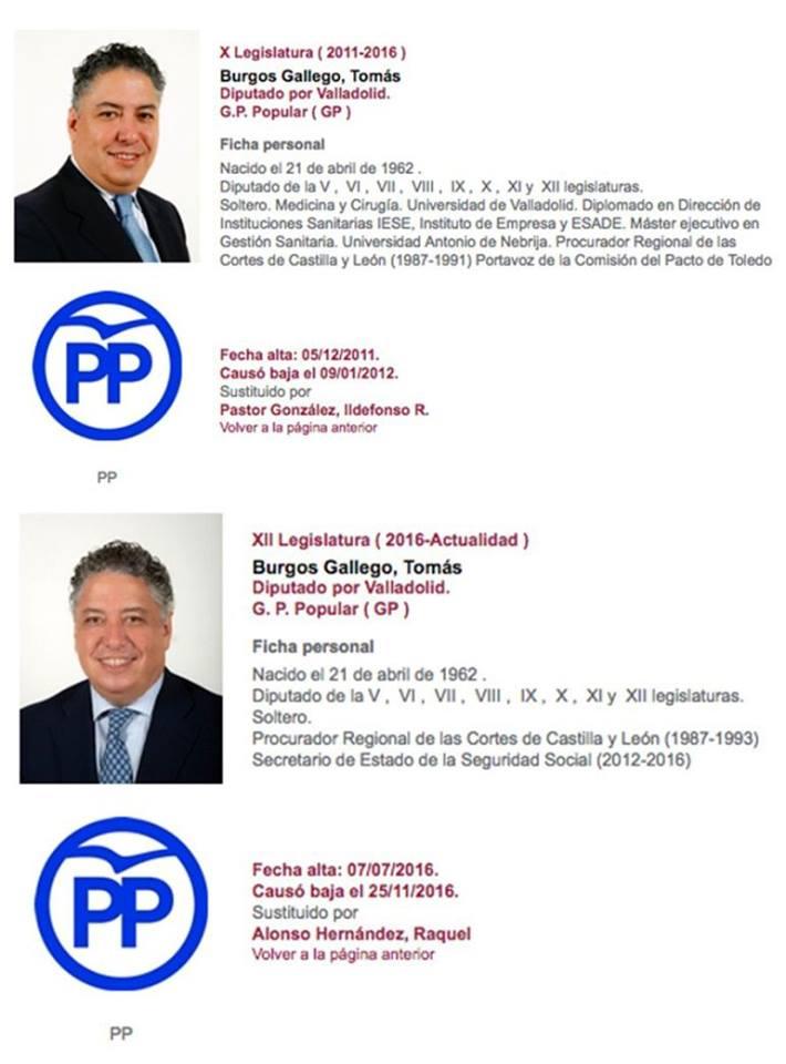Tomás Burgos del PP de Valladolid pasó de ser multilicenciado a simplemente soltero