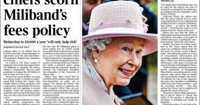 Tras los últimos acontecimientos que mantienen a Carles Puigdemont detenido en Alemania, The Times en una editorial abiertamente, una vez más, se posiciona