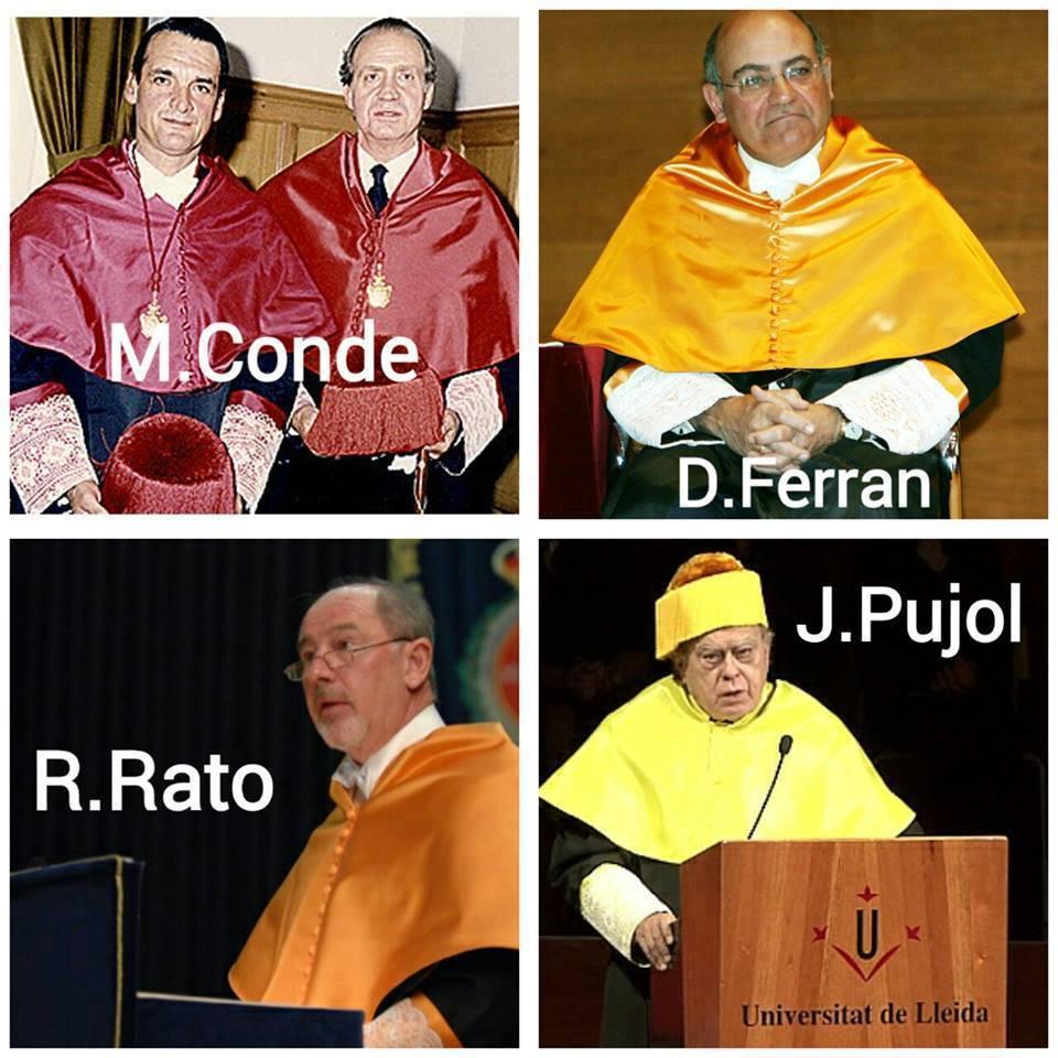 doctores de la universidad
