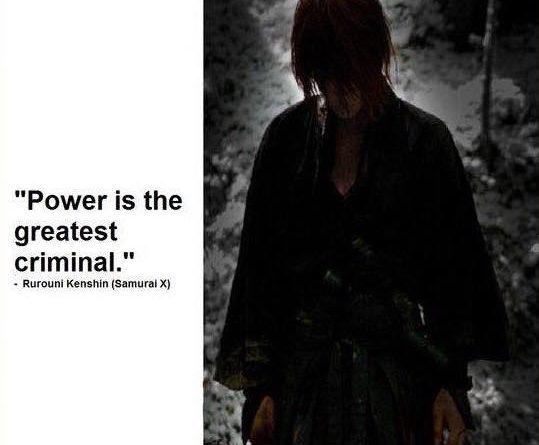 El Poder es el mayor criminal