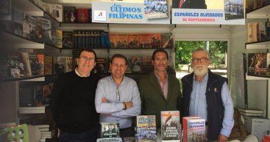 José Crespo en la Feria de Libro de Madrid