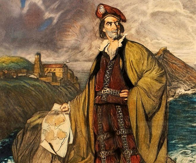 Juan Sebastián Elcano (retratado por Zuloaga)