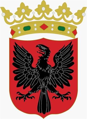 Primitivo escudo de Navarra con el águila